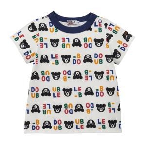 ダブルB 総柄半袖Tシャツ 80cm〜100cm|kasaman