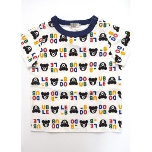 ダブルB 総柄半袖Tシャツ 110cm|kasaman