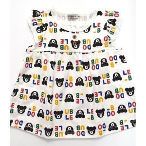 ダブルB 総柄半袖Tシャツ 90cm|kasaman
