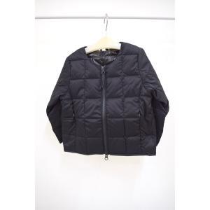 ポニーゴーラウンド PONY GO ROUND タイオン TAION CREW NECK W-ZIP DOWN JKT ブラック 100-140cm|kasaman