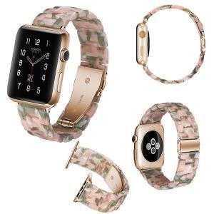 アップルウォッチ バンド apple watch series4 Apple Watch 樹脂製 ベルト メンズ レディース 40mm 44mm series3 series2 series1 42mm 38mm|kaseishop