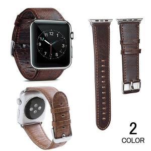 アップルウォッチ バンド apple watch Apple Watch バンド レザー メンズ レディース 交換用 40mm 44mm series3 series2 series1 42mm 38mm|kaseishop