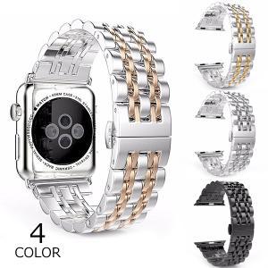 アップルウォッチ バンド apple watch Apple Watch バンド ステンレススチール メンズ レディース 交換用 交換 時計バンド 40mm 44mm 42mm 38mm|kaseishop