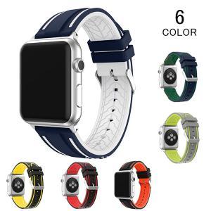バンド アップルウォッチ シリカゲル Apple watch Apple watch バンド レザー メンズ レディース 交換用 替えベルト ウォッチベルト 高品質|kaseishop