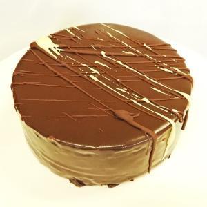 温度で変化する美味しさ ミニショコラノワ12cm チョコレートケーキ バレンタイン ホワイトデー