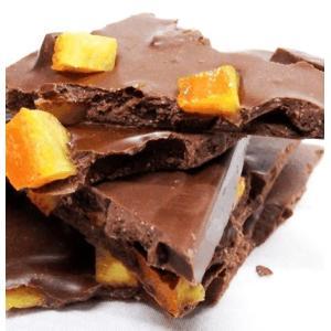 有機カカオのオーガニックフェアトレードチョコレートを使用した割れチョコに人気のオランジェットの美味し...