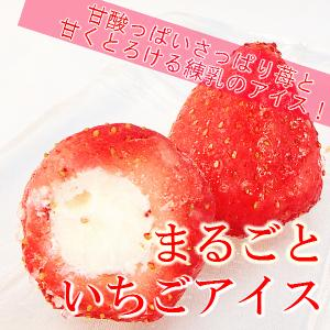 個包装 春摘み苺と練乳アイスの苺アイス 50粒