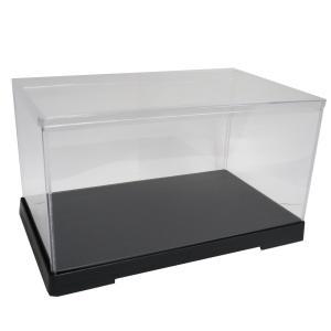 透明フィギュアケース No.46 横長 横幅30cm×奥行18cm×高さ16cm 301816 プラスチック 組立式 ディスプレイケース|kashibako