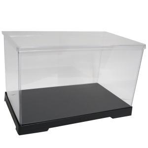 透明フィギュアケース No.47 横長 横幅30cm×奥行18cm×高さ18cm 301818 プラスチック 組立式 ディスプレイケース|kashibako