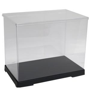 透明フィギュアケース No.49 横長 横幅30cm×奥行18cm×高さ24cm 301824 プラスチック 組立式 ディスプレイケース|kashibako