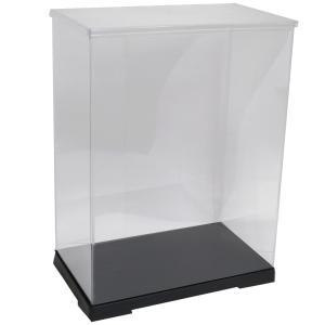 透明フィギュアケース No.52 横長 横幅30cm×奥行18cm×高さ40cm 301840 プラスチック 組立式 ディスプレイケース|kashibako