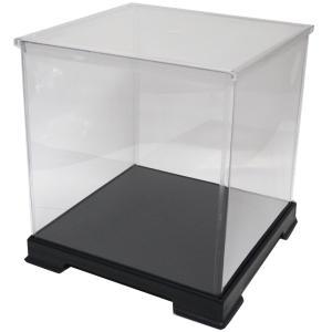 透明フィギュアケース No.40 横幅32cm×奥行32cm×高さ32cm 323232 プラスチック 組立式 ディスプレイケース|kashibako