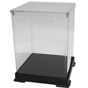 透明フィギュアケース No.42 横幅32cm×奥行32cm×高さ45cm 323245 プラスチック 組立式 ディスプレイケース|kashibako