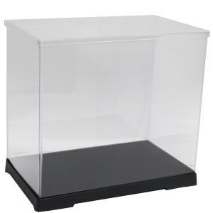 透明フィギュアケース No.56 横長 横幅40cm×奥行21cm×高さ32cm 402132 プラスチック 組立式 ディスプレイケース|kashibako