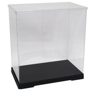 透明フィギュアケース No.58 横長 横幅40cm×奥行21cm×高さ43cm 402143 プラスチック 組立式 ディスプレイケース|kashibako