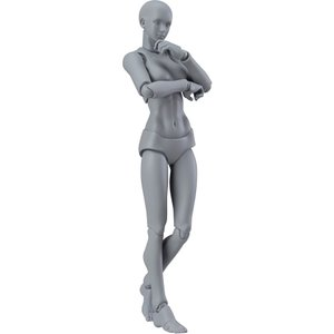 予約2018年7月以降未定 【再販】 マックスファクトリー figma archetype next:she gray color ver. (女性素体 グレー) (フィギュア)【クレ決済注意事項有り】|kashibako
