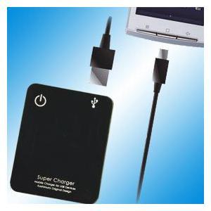 単3x4電池式充電器 USB/MicroUSB充電ケーブル付(AJ-209) kashimura