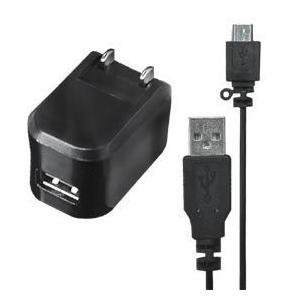 AC/USB充電器【microUSBケーブル付】(AJ-380)|kashimura