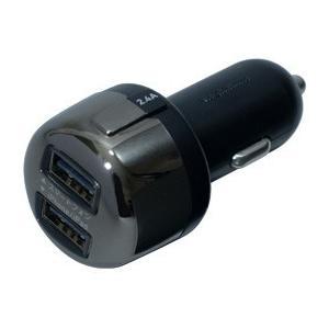 DC充電器 4.8A出力  リバーシブルUSB×2ポート(AJ-463)|kashimura