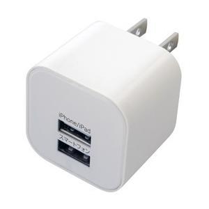 AC充電器USB2ポート 2.4A(AJ-464)|kashimura