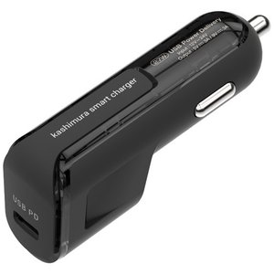 DC充電器 USB PD規格対応 最大出力27W (9V/3A) Type-C×1ポート(AJ595)|kashimura