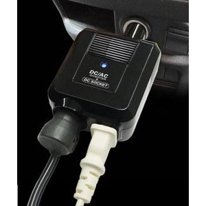 車内で使えるACコンセント 80W+DCソケット付(KD-91)|kashimura