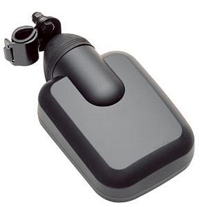 サイドコンポーネントミラー 黒 28〜30mm用(KM-974)|kashimura
