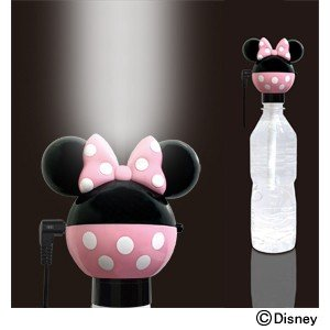 ペットボトル式加湿器【ミニーマウス】(TD-9)|kashimura