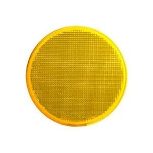 反射レンズ直径100mm 黄色(ZR-61)|kashimura