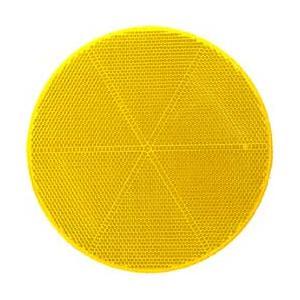 反射レンズ直径200mm 黄色(ZR-63)|kashimura