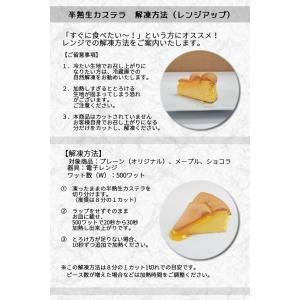 半熟 生カステラ(ショコラ)【冷凍配送】ギフト お取り寄せ|kashuen-moricho|05