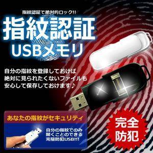防犯 指紋認証 USB メモリ 大切なデータを 徹底 ロック KZ-SMN-USB 予約|kasimaw