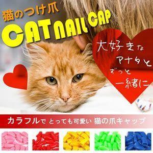 【限定11台】猫の爪キャップ 引っ掻き傷から守るソフトカバー ねこ 犬 KZ-TUME 即納|kasimaw