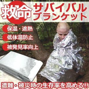 低体温防止 保温 エマージェンシーブランケット 防災袋 KZ-EMAB 即納|kasimaw