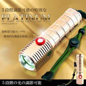 5段階 光の調節可能 プラチナム LEDライト 800LM 搭載 作業 アウトドア 軽量 災害 KZ-PRLIGHT 即納|kasimaw