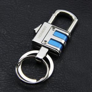 スマートキーケース PADLO 高級 Wリング式 キーホルダー 高機能 カラビナフック オシャレ デザイン 車 家 鍵 KZ-BC798  予約|kasimaw