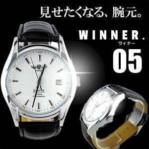 高級デザイン型 腕時計 WINNER.05 腕元 オシャレ 贈り物 お祝い 時間 ウォッチ 父の日 KZ-NBW0HE6499-WH3 予約 kasimaw