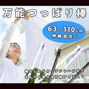 突っ張り棒 つっぱり棒 63〜110cm 伸縮自在 KZ-TUPARI 予約|kasimaw