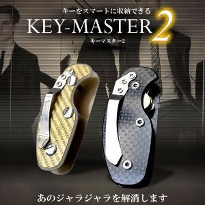 キーホルダー 収納 鍵 コンパクト 持ち歩き スタイリッシュ 軽量 2色 KZ-E2050  予約|kasimaw