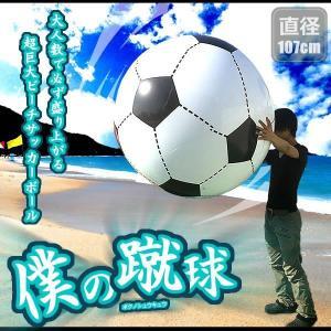 直径107cm 巨大サッカーボール 特大 ジャイアント プール 海 マリンスポーツ 運動 アウトドア 107cm SAKABO107 予約