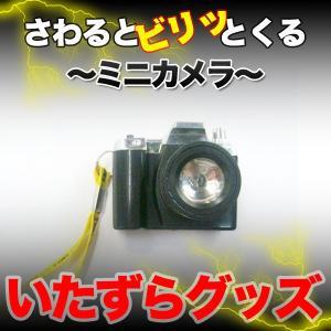 ミニカメラ キーホルダー さわるとビリッと いたずらグッズ ジョークグッズ ドッキリ KZ-DENMINICAM08 即納|kasimaw