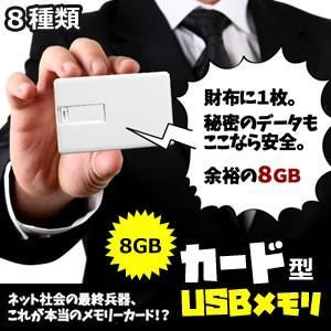 カード型 USB メモリ 8GB フラッシュ ブラック ホワイト 国旗 紙幣 PC パソコン KZ-CARD-ME  即納|kasimaw