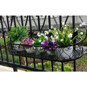 壁面 取付 鉄 製 ラック プランター 5 壁掛け 花 植物 KZ-NIWA07 予約|kasimaw