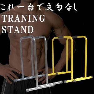 自宅で高負荷自重トレーニング マルチディップス スタンド 筋トレ 器具 パンプアップ 胸筋 ソフトグリップ KZ-TRESTA  即納|kasimaw