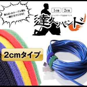 DIY 強力 マジックテープ式 結束バンド 2cm 太さ DIY 3個セット ガーデニング ケーブル 1.5m TATUBAN-2|kasimaw