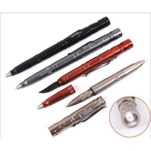 多機能 LEDペンライト付き ボールペン ナイフ 予約|kasimaw