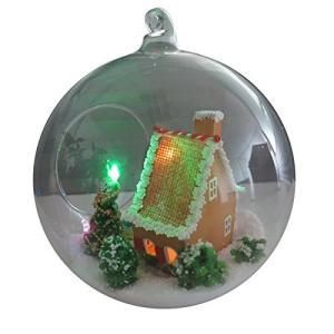 クリスマス 手作り ミニチュア DIY ドールハウス ログハウス Aタイプ KZ-MG007 予約|kasimaw