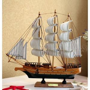 木製工芸品 帆船 完成品 FD523|kasimaw
