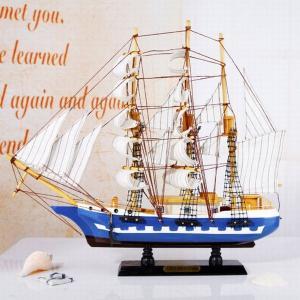 木製工芸品 帆船 完成品 FD575 予約|kasimaw