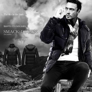 男 の ワイルド ダウン ジャケット  スマックダウン 上着 冷断力 防寒 おしゃれ 大人 贈り物 メンズ コート アウター L XL KZ-SMACKDW 予約|kasimaw